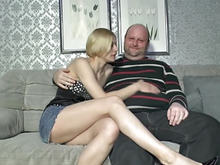 Amateur German Eats Cum In Sextape Lessons