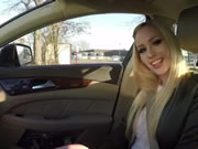 Lucy Cat Fuck in Car