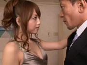Akiho Yoshizawa Wearing Dress and sex